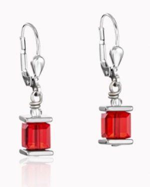 boucle-d-oreille-acier-cristal-rouge-0094200300