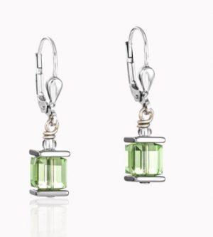 boucle-d-oreille-acier-cristal-vert-0094200523