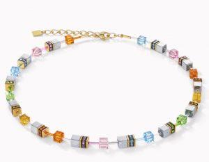 collier-coeur-de-lion-acier-geocube-4015101522-multicolore-pastel