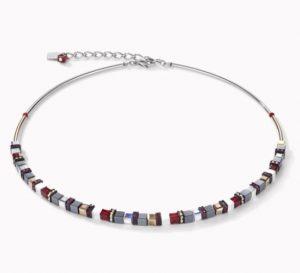 collier-coeur-de-lion-geocube-acier-hematite-rose-4977100300