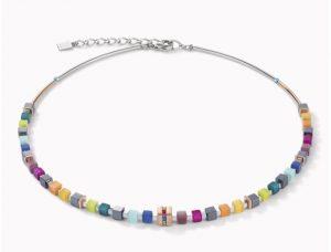 collier-coeur-de-lion-acier-geocube-5009101500-multicolore