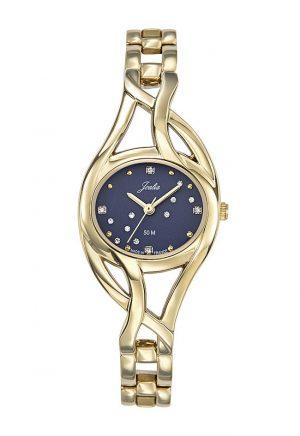 montre-femme-ovale-dore-bracelet-doré-630641