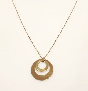 collier-or-jaune-18k-double-cercle