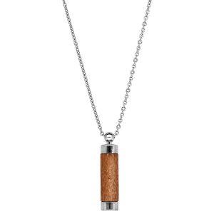 collier-acier-homme-tube-bois