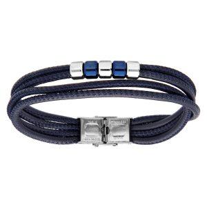 bracelet-homme-cuir-acier