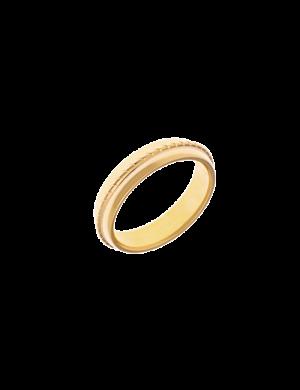 bague-plaque-or-motif-fabriquee-en france