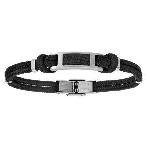 bracelet-cordon-acier-homme