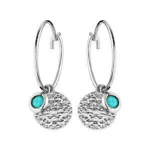 boucles-d-oreilles-creoles-pampille-turquoise-argent-rhodie