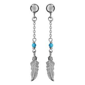 boucles-d-oreilles-pendante-argent-rhodie-femme-plume