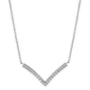 bijou-collier-femme-argent-forme-v