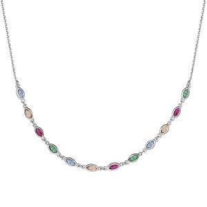 bijou-collier-argent-oxydes-multicolores