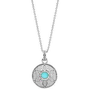 bijou-collier-fleur-turquoise-femme-argent