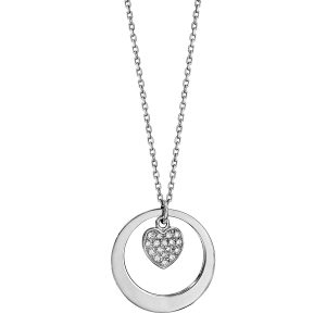 bijou-collier-cercle-cœur-femme-argent-oxydes-