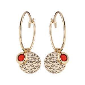 boucles-d-oreilles-creoles-plaque-or-pampille-corail