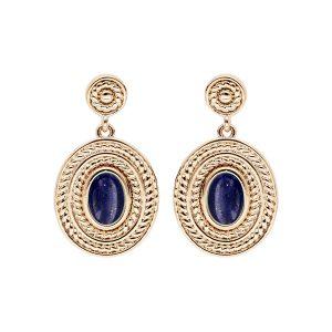 boucles-d-oreille-plaque-or-pendante-lapis-lazuli