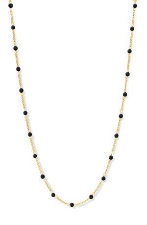 collier-acier-agate-noire-co88