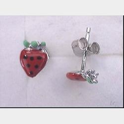 boucles-d-oreilles-argent-enfants-fraises
