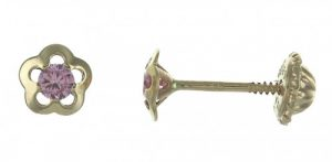 boucles-d-oreilles-or-9-carats-fleurs-a-vis