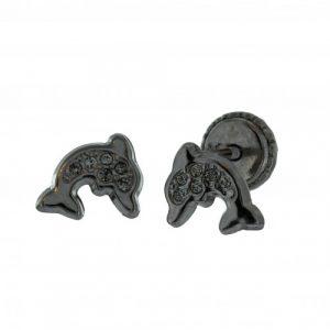 boucles-d-oreilles-or-gris-9-carats-dauphin-vis