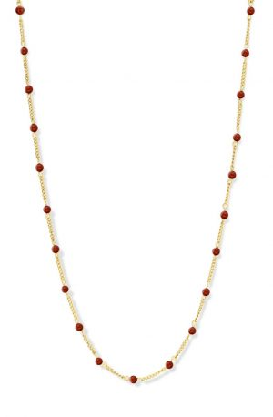collier-acier-agate-rouge-co88