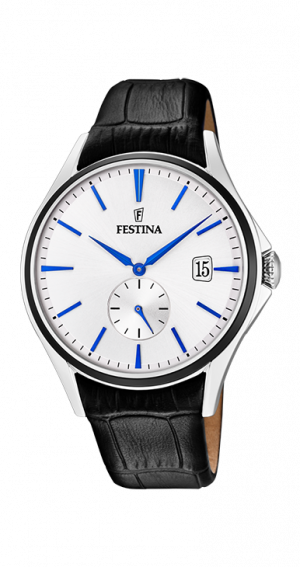 montre-festina-homme-cuir-extra-plate-f16980a
