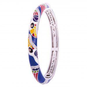 bracelet-jonc-femme-argent-laque-una-storia-jo121113