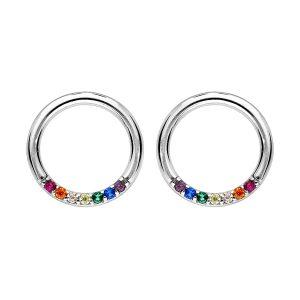 boucles-d-oreilles-argent-rhodie-cercle-bijou-femme