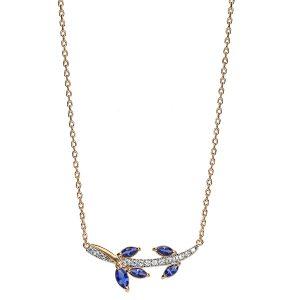 bijou-femme-collier-plaqué-or-feuillage