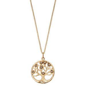bijou-femme-collier-plaqué-or-arbre-de-vie