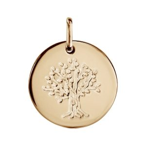 pendentif-plaque-or-rond-arbre-de-vie