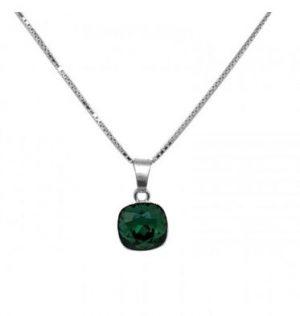 collier-argent-indicolite-paris-cristal-carre-vert-mona