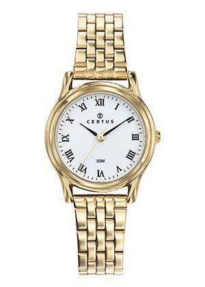 montre-doree-femme-bracelet-acier-630690