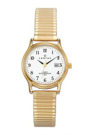 montre-ronde-femme-bracelet-extensible-acier-630714