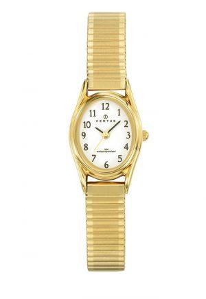 montre-ovale-femme-bracelet-extensible-acier-630715