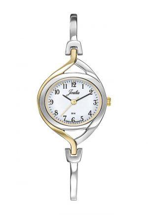 montre-femme-metal-bicolore-634092