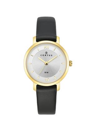 montre-dame-doree-bracelet-cuir-646248