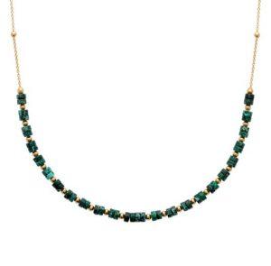 collier-plaque-or-jaspe-vert